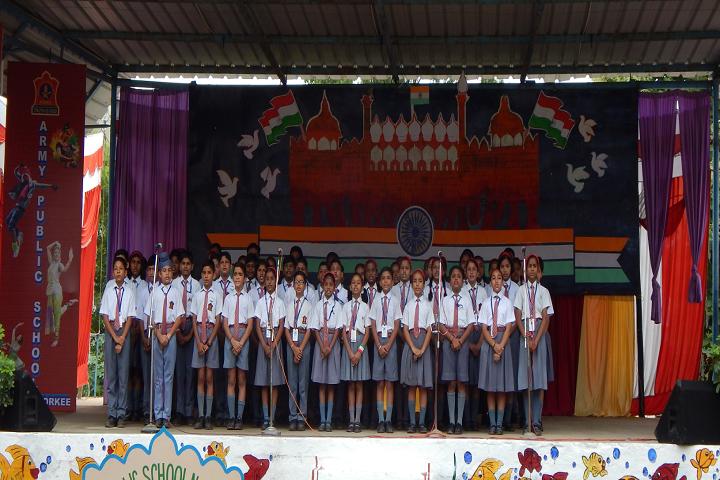 Army Public School No 2-Group Singing