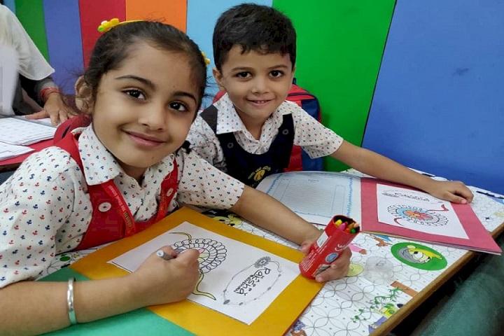Aurum The Global School-Rakhi Making Competition