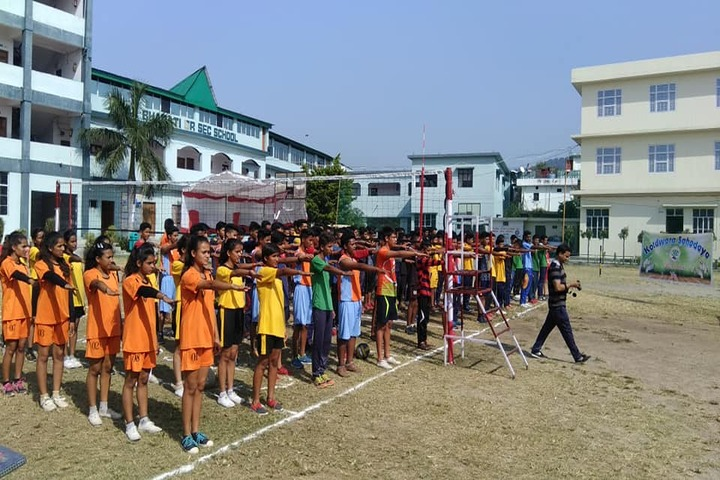 Bal Bharati School-Morning Assembly