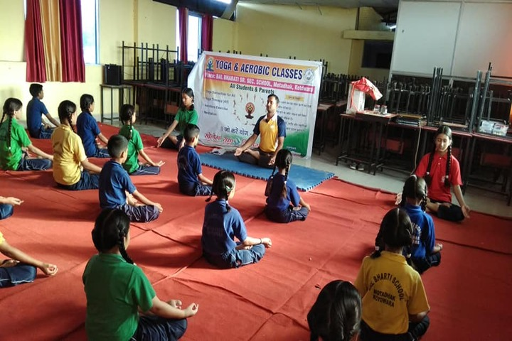 Bal Bharati School-Yoga Activity