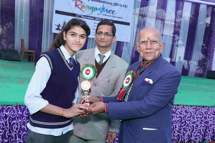 Baluni Public School-Prize Distribution