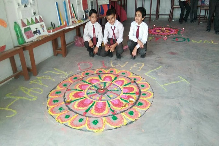 Bdm School-Rangoli Competition