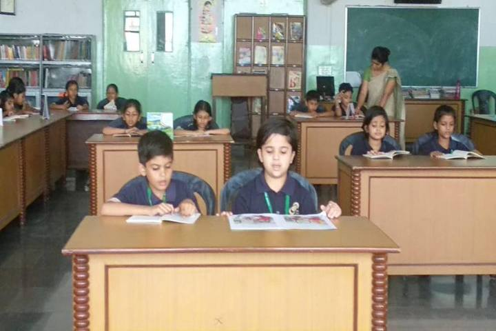 BML Munjal Green Medows School-Library