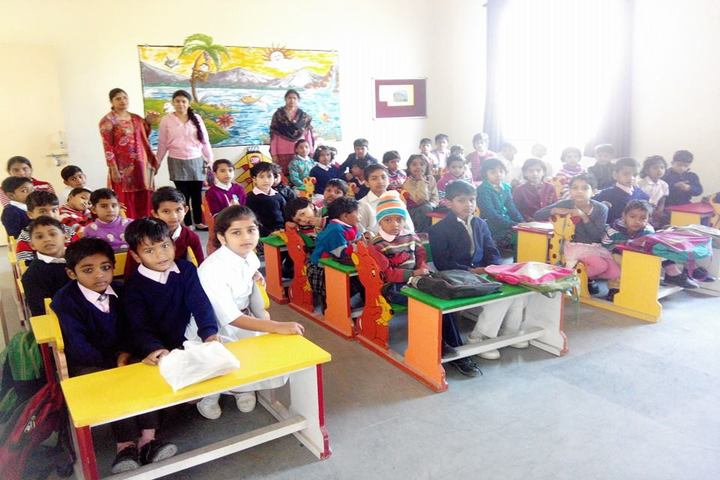 Braj International Public School-Classroom