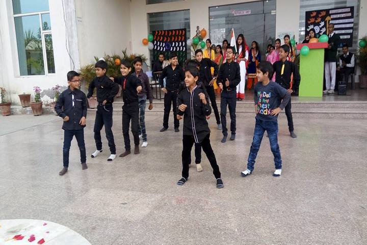 Braj International Public School-Dance Activity