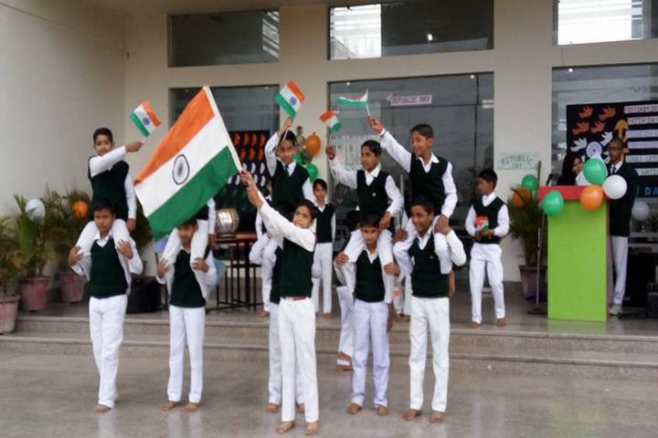 Braj International Public School-Independence DayCelebrations