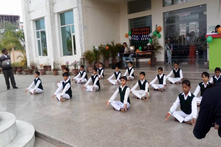 Braj International Public School-Yoga