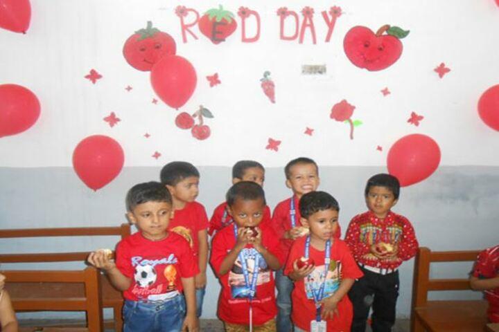 Cynthia School-Red Day