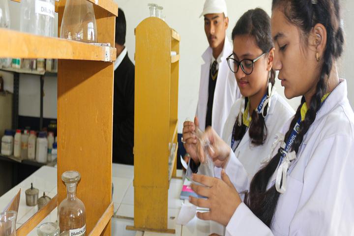 Cynthia School-Science Lab