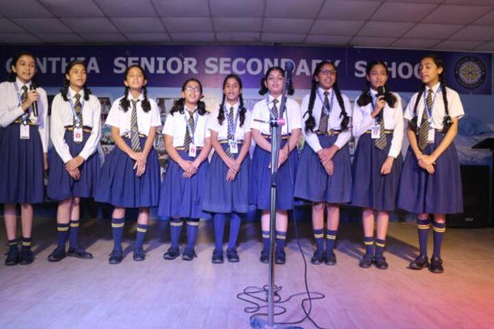 Cynthia School-Singing