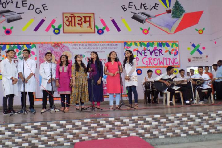 DAV Centenary Public School-Group song