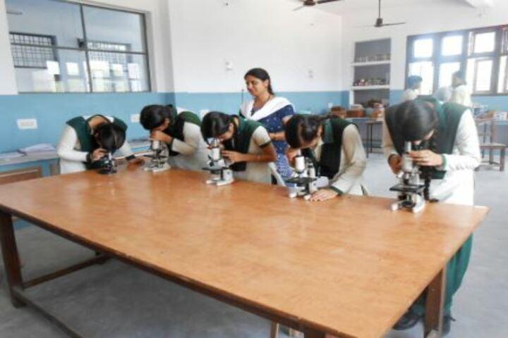 DDM DAV Public School-Biology Lab