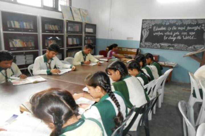 DDM DAV Public School-Library