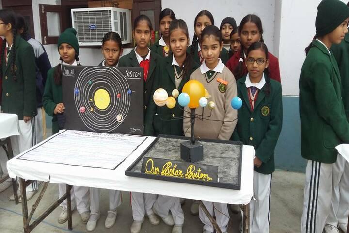 DDM DAV Public School-Science Exhibition