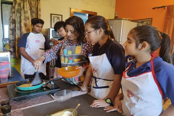 Dehradun Hills Academy-Cooking Activity