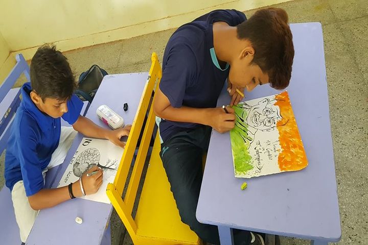Dehradun Hills Academy-Drawing Activity