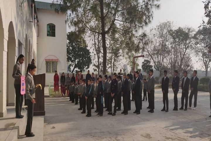 Dehradun Hills Academy-Morning Assembly