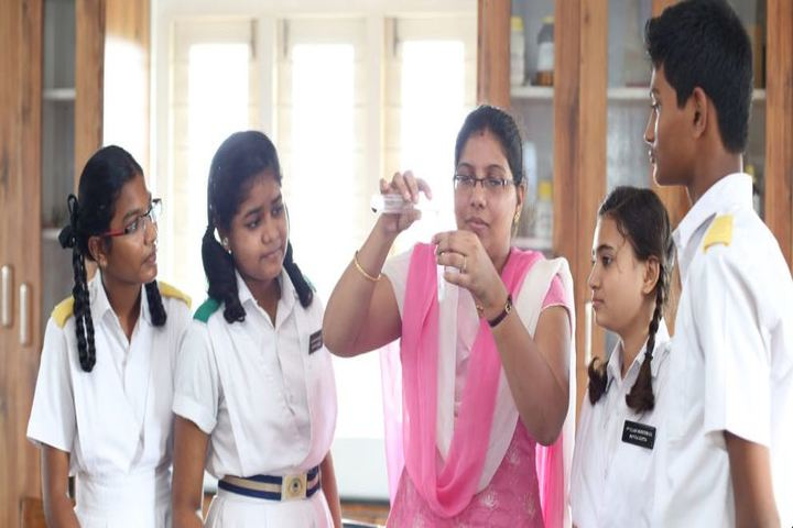 Green City English Medium School -  Chemistry Lab