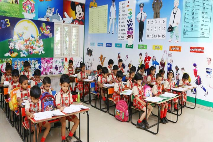 Green City English Medium School - KG Classrooms