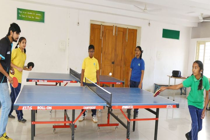 Green City English Medium School - Table Tennis Court