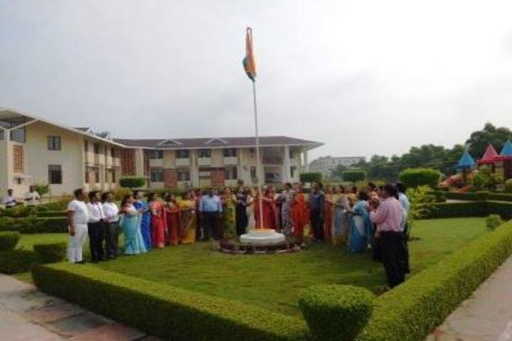 Delhi Public School-Flag Hosting