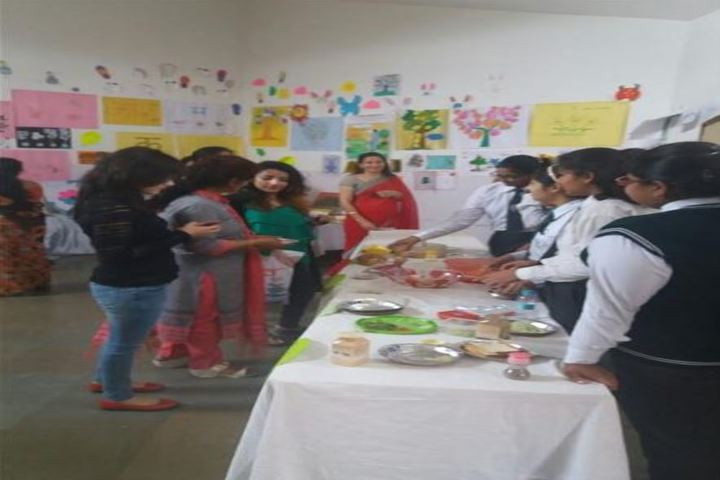 Delhi Public School-Salad Making Competition