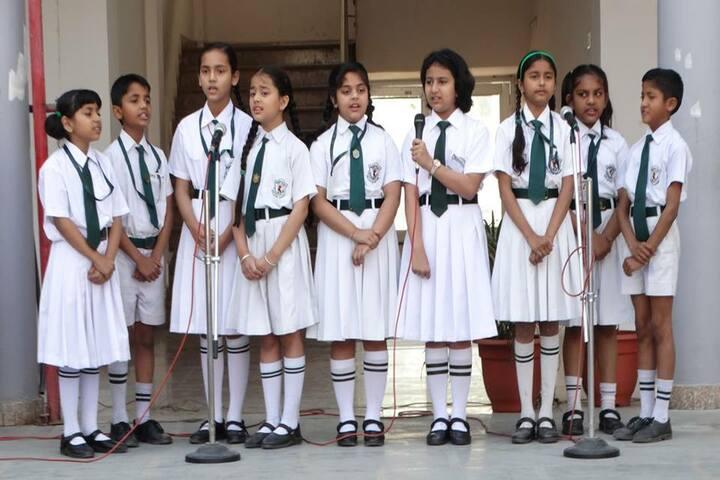 Delhi Public School Daulatpur-Group Song