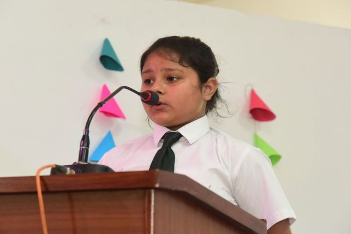 Delhi Public School-Student Speech