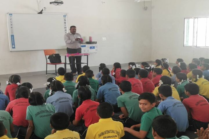 Dharma International School-Art and Craft Class