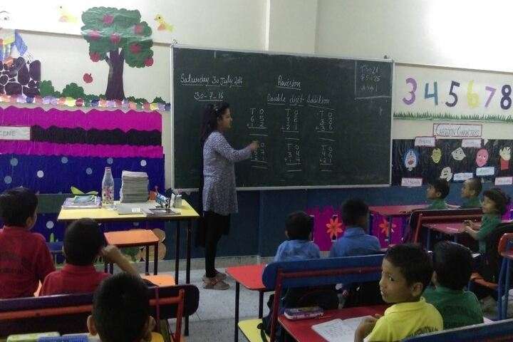 Dharma International School-Classroom