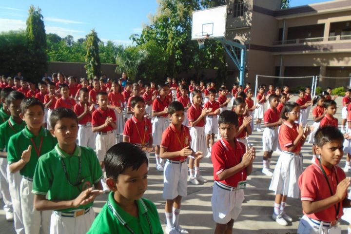 Dhoom Singh Memorial Public School-Assembly