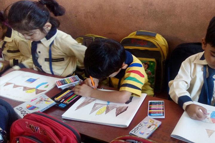 Diksha Rising Stars Public School-Drawing Competition
