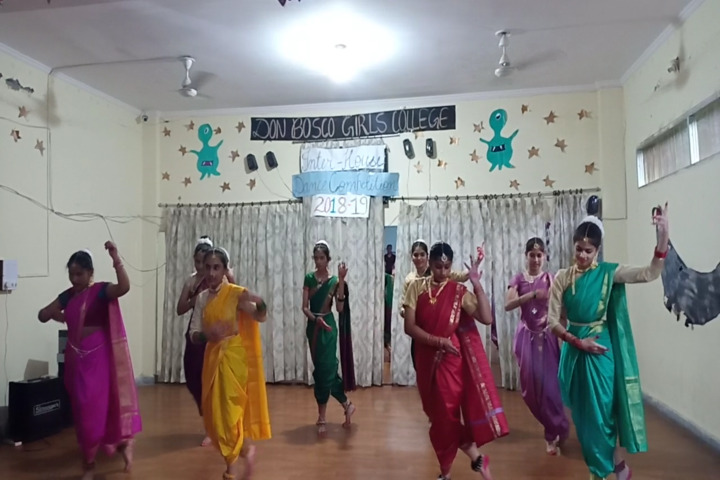 Don Bosco Girls College-Dance Competitions