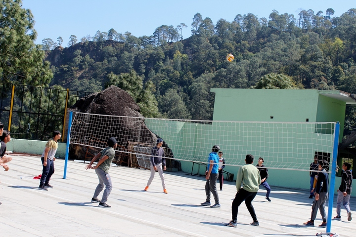 Don Bosco Public School-Badminton Court