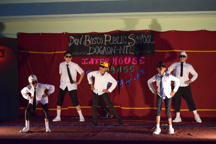 Don Bosco Public School-Dance Competition