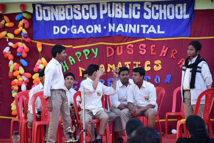 Don Bosco Public School-Drama