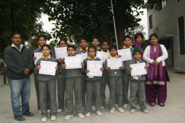 Doon Bhawani International School-Certification