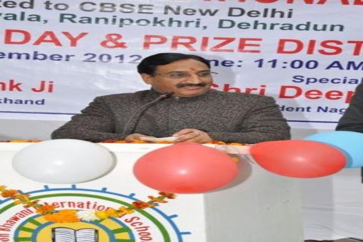 Doon Bhawani International School-Guest Speech