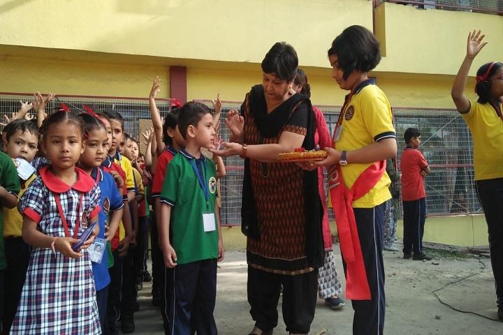 Kendriya Vidyalaya-Welcoming 1st Class