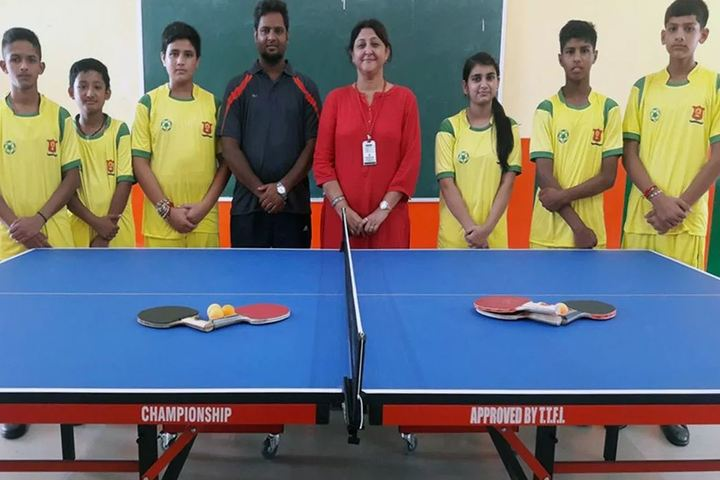 Doon Heritage School-Indoor Games