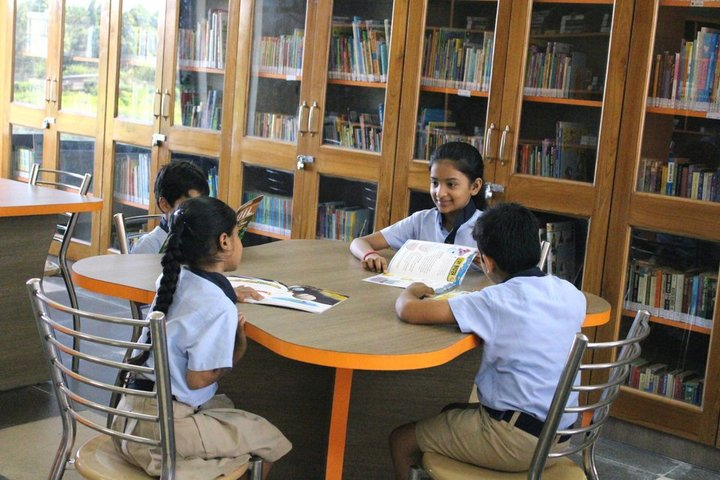 Doon International School Riverside Campus-Library