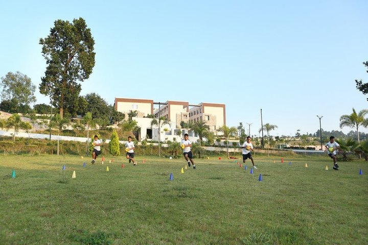 Doon International School Riverside Campus-Sports Area