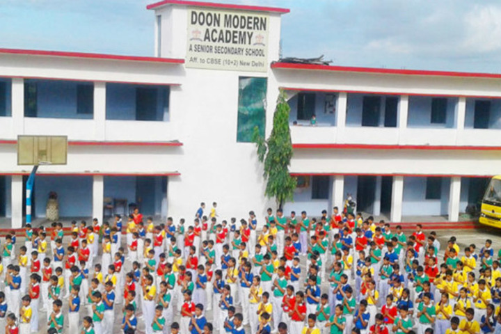 Doon Modern Academy-student1