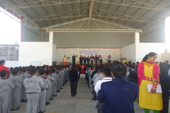 Doon World School-Assembly