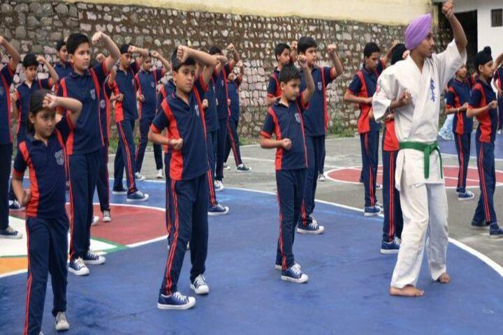 Green Mount Global School-Karate