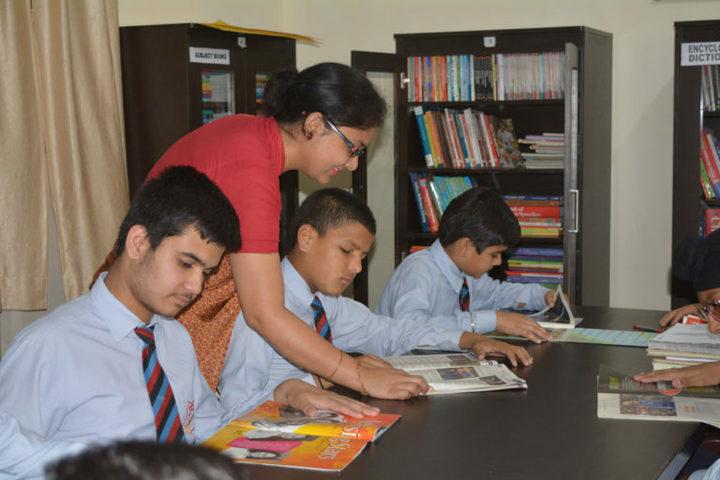 Green Mount Global School-Library
