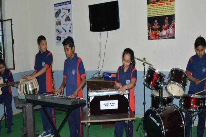 Green Mount Global School-Music Class