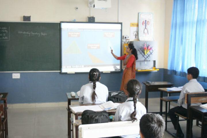 Green Mount Global School-Smart Class Room