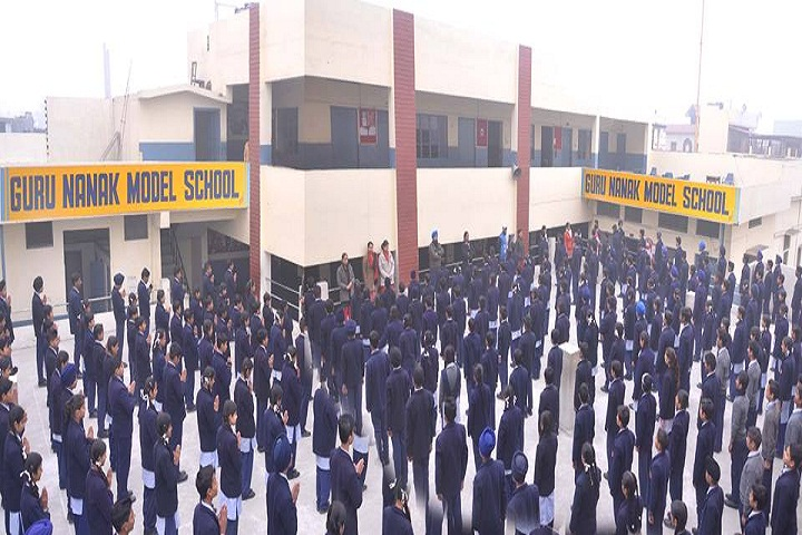 Guru Nanak Model School-Assembly