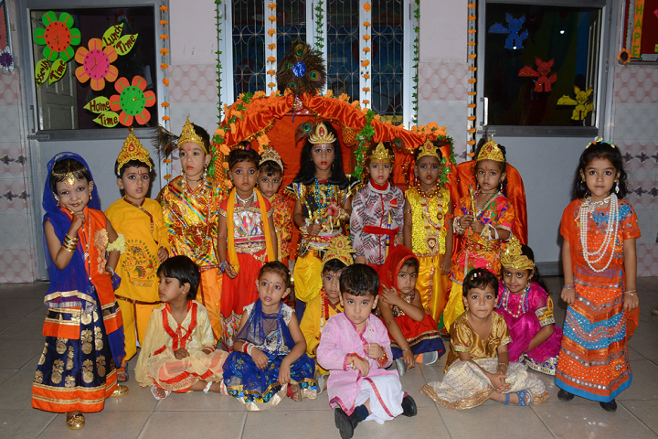 Guru Nanak Model School-Janmashtami Celebrations